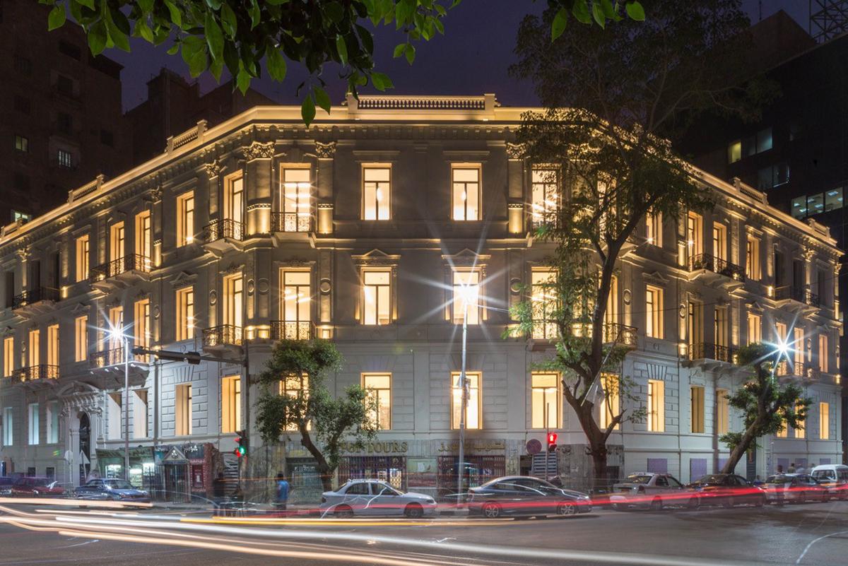 Sarwa Headquarters. Downtown Cairo